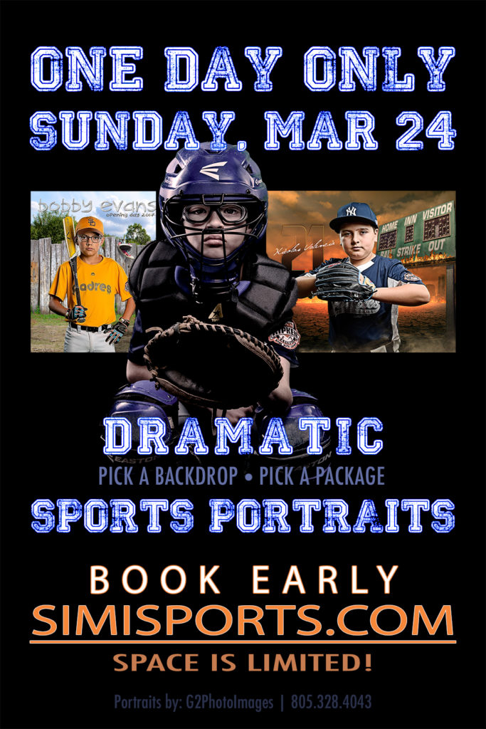 Dramatic Sports Portrait Poster